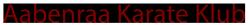 Aabenraa Karate Klub Logo